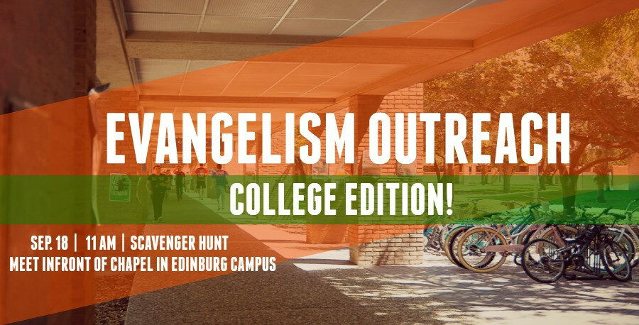 Evangelism Outreach- College Edition