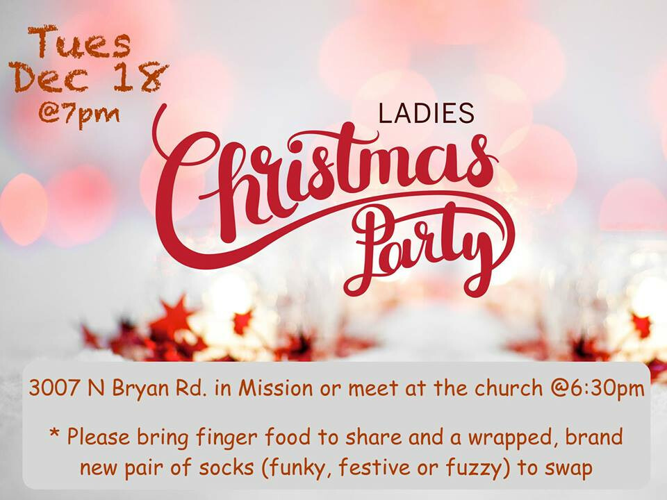 Women Ministry Christmas Party