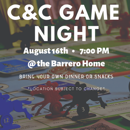 College Ministry Game Night